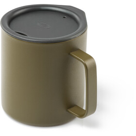 GSI Glacier Stainless 15 Fluid Ounce Tasse de camping 444ml, olive